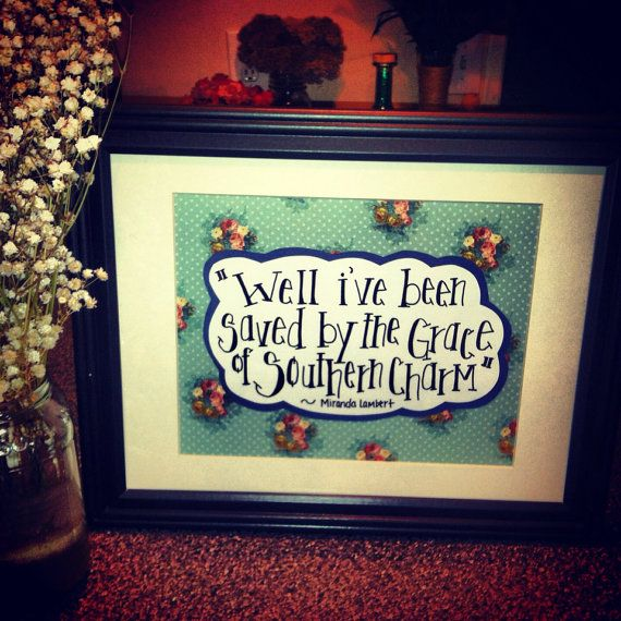 Framed Lyrics Handwritten Art Saved By The By Blairbaileycpd 2500