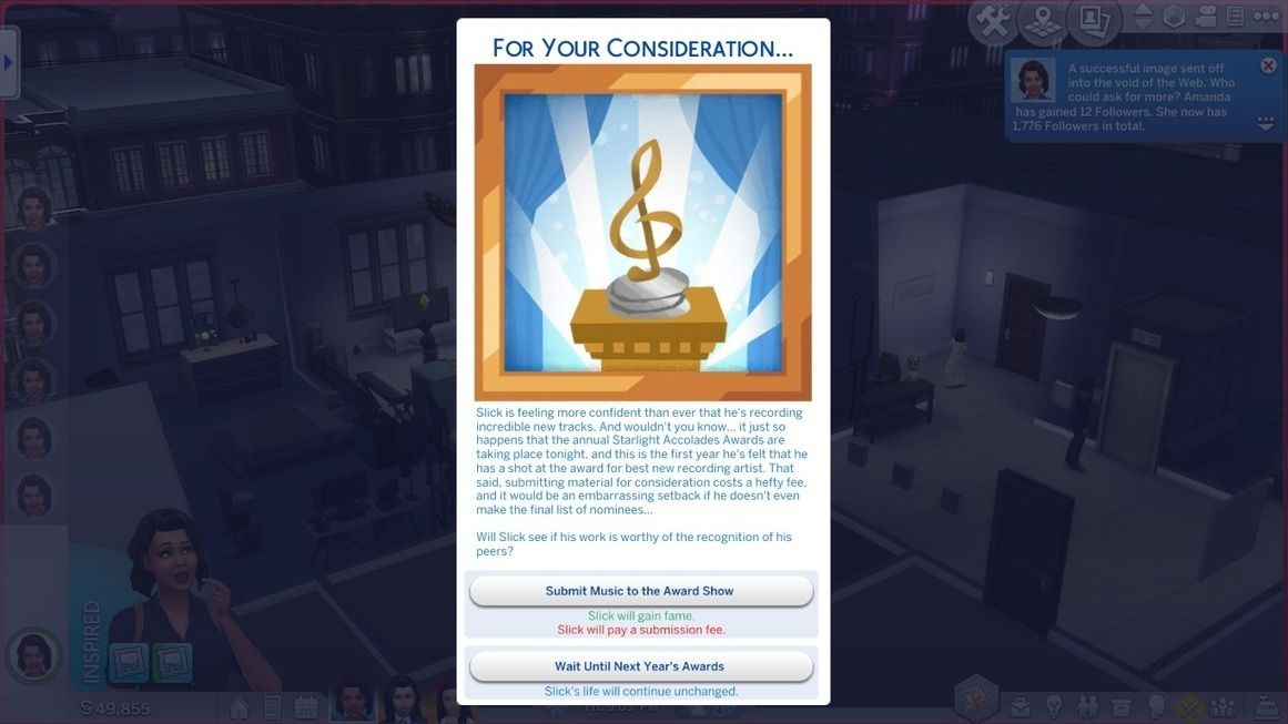 The Sims 4 Get Famous Famous in Existing Careers