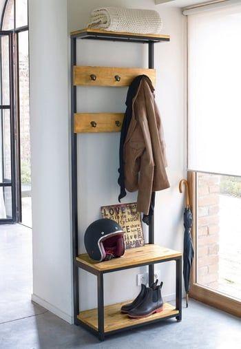 Banc D 39 Entree Hiba Par La Redoute Meuble Entree Mobilier De Salon Idee Rangement Chaussure
