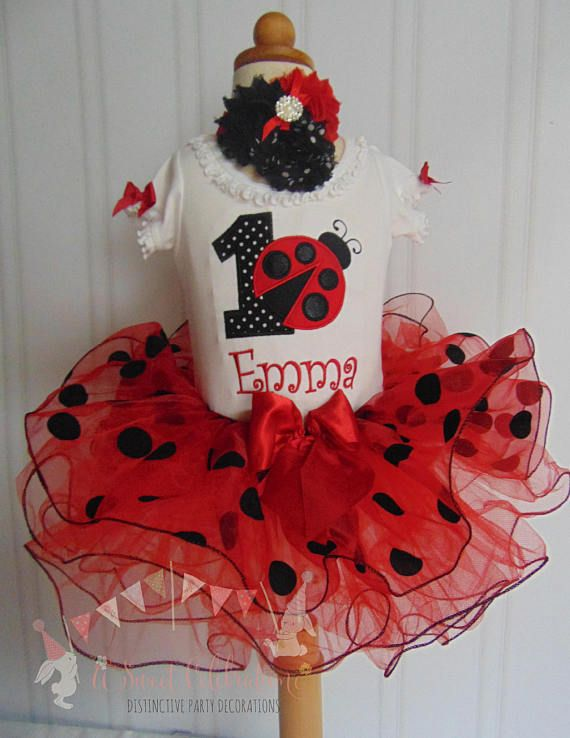 4dcb0896 Ladybug Birthday Outfit- Summer Ladybug Outfit- Red tutu - Cute ...