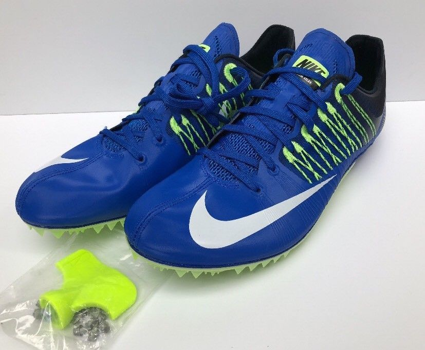 finest selection 4e119 b49e3 Nike Zoom Celar 5 Track Sprint Spikes Blue Green Black White SZ 629226-413  New  fashion  clothing  shoes  accessories  mensshoes  athleticshoes (ebay  link)