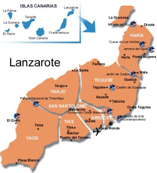 Lanzarote A Canary Guide To The Volcanic Island In The Sun Voyage