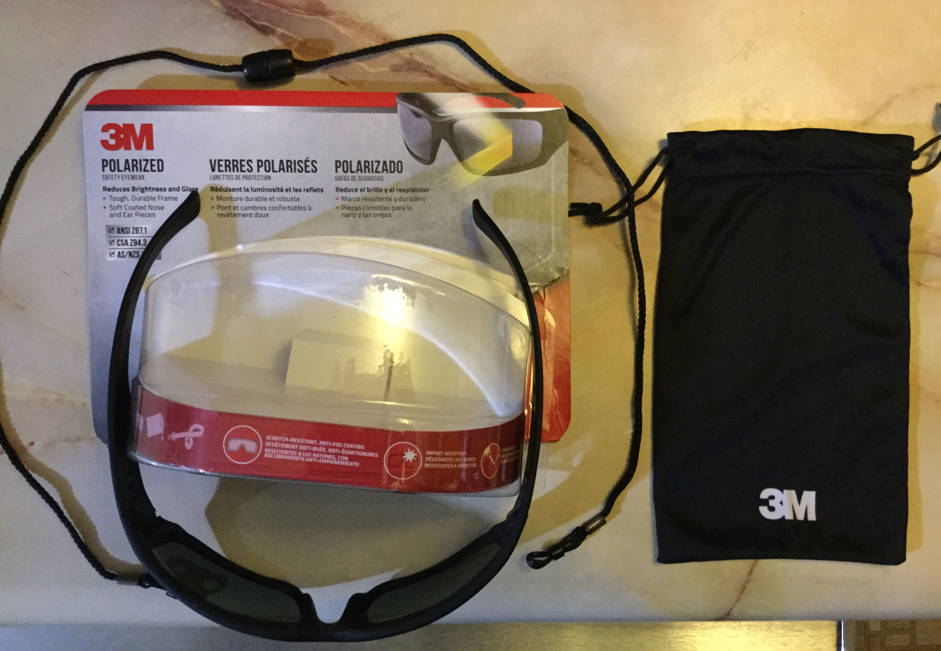 Free 3M Polarized Safety eye wear freestuff freebies