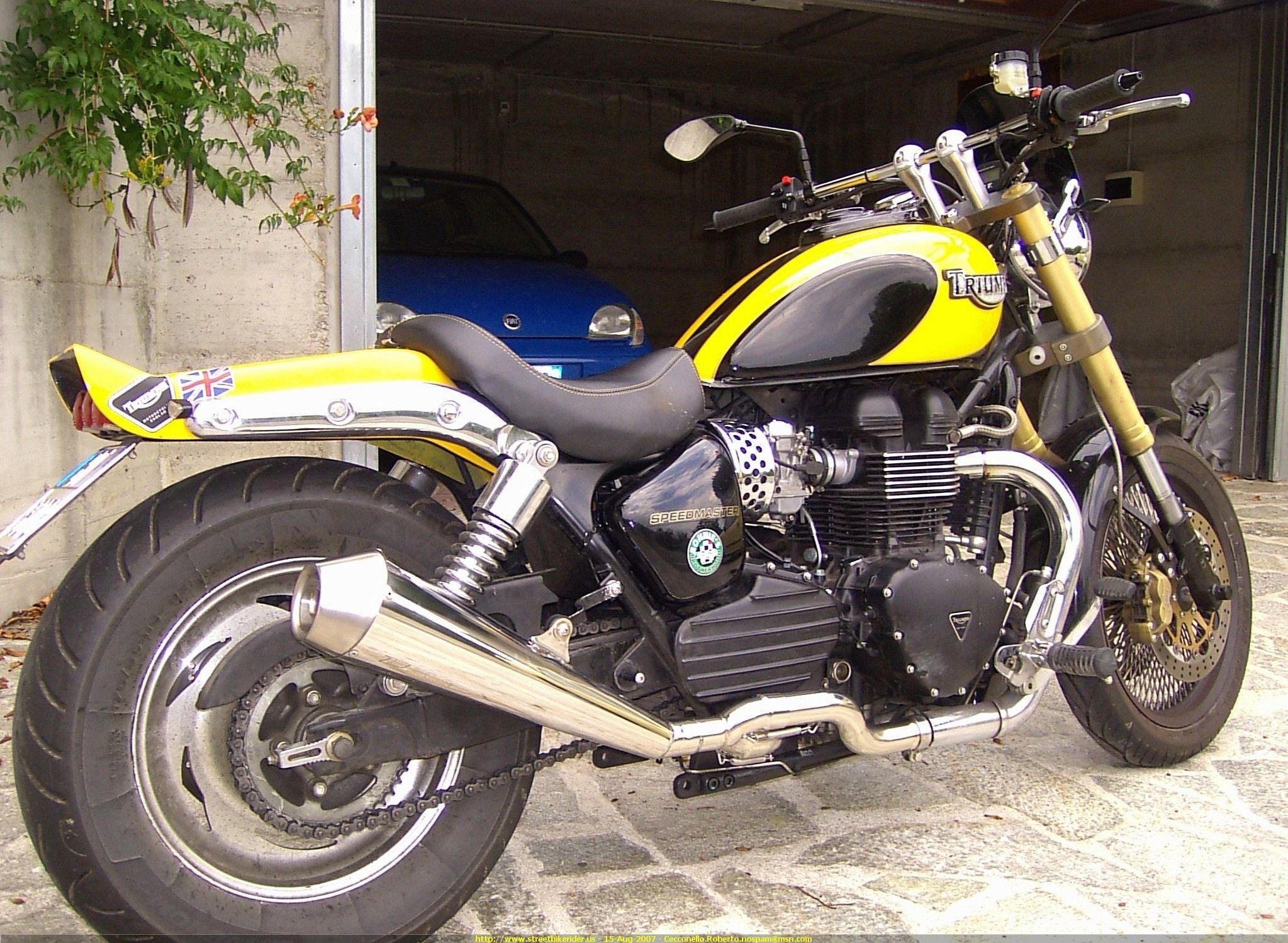 2004 Speedmaster Redux Motorcycle Culture Triumph Speedmaster Triumph Motorcycles