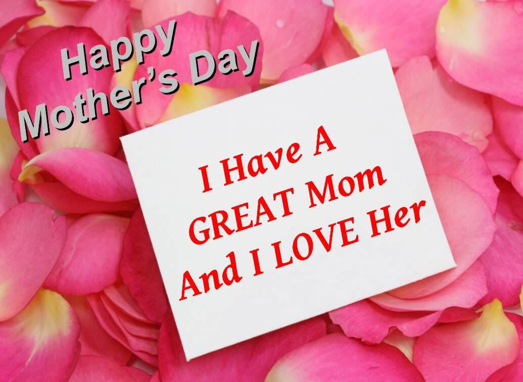 Happy Mother's Day!! I am Blessed to have such a Great Mom