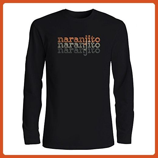 Idakoos - Naranjito repeat retro - Cities - Long Sleeve T-Shirt - Cities countries flags shirts (*Partner-Link)