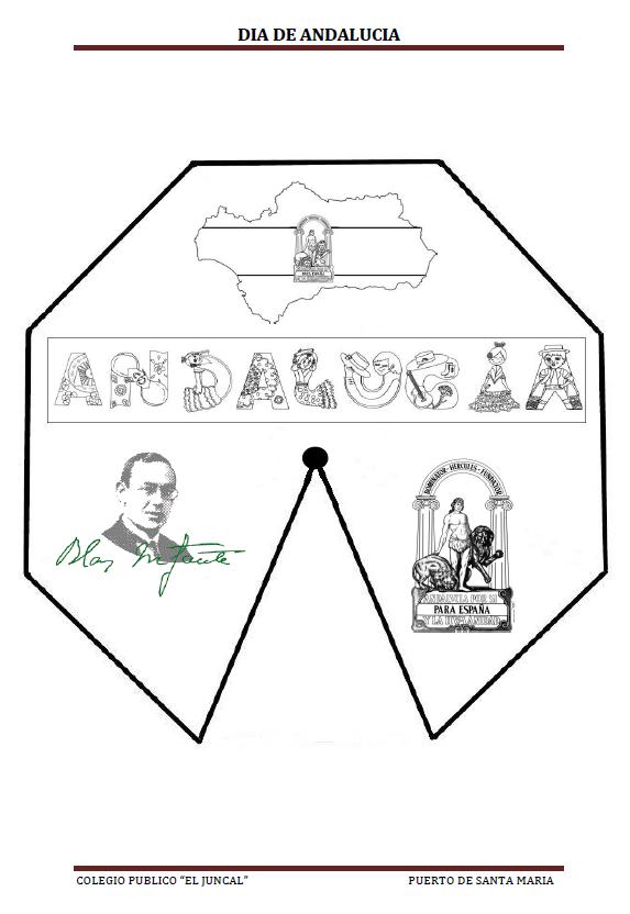 Rueda De Las Provincias Y Símbolos De Andalucía Actiludis Bandera De Andalucia Dia De Andalucia Andalucía