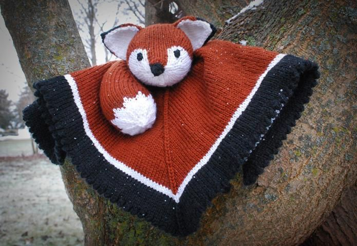 (6) Name: 'Knitting : Woobie Fox
