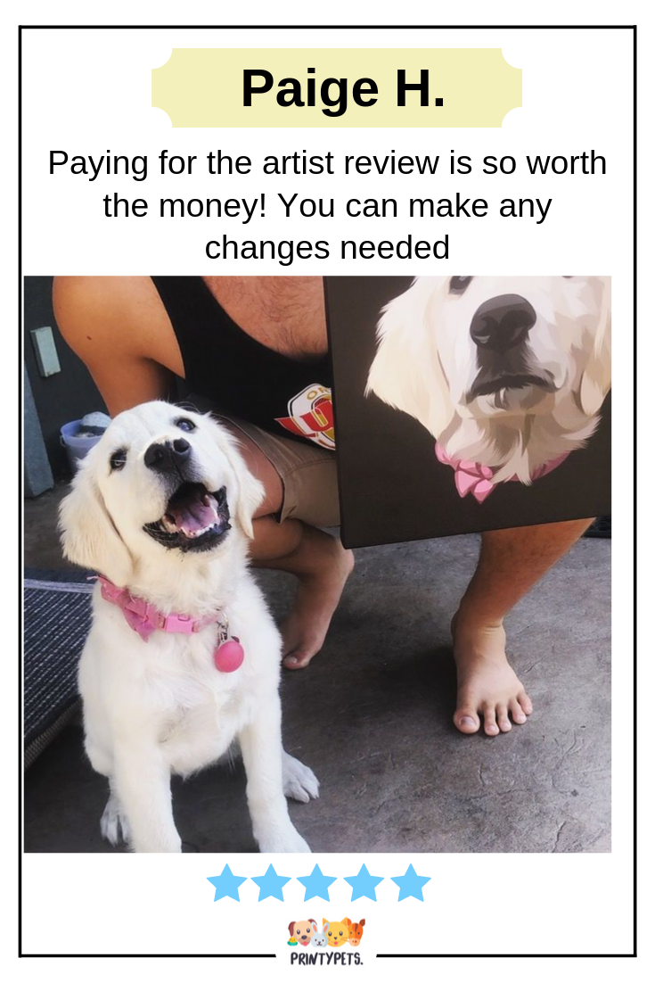 From Paige H Paying For The Artist Review Is So Worth The Money You Can Make Any Changes Needed Never Actually Needed Custom Pet Art Cool Artwork Reviews