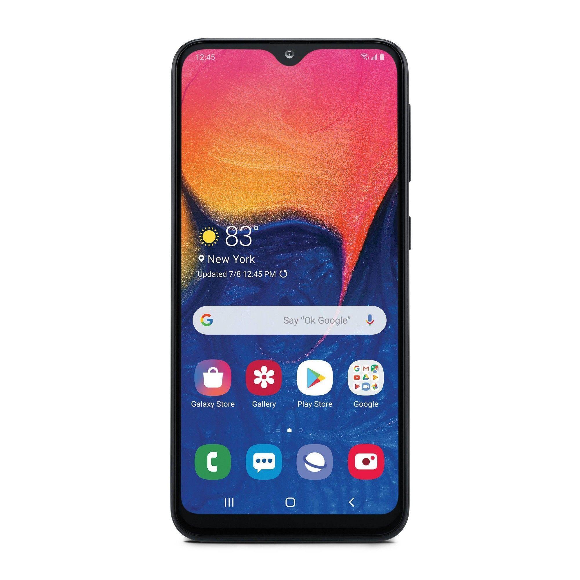 Consumer Cellular Postpaid Samsung A10e 32gb Black Samsung Samsung Wallpaper Cellular