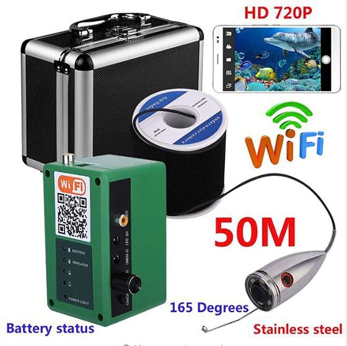 NYWOUT 720P WiFi Wireless Underwater Fishing Video Camera