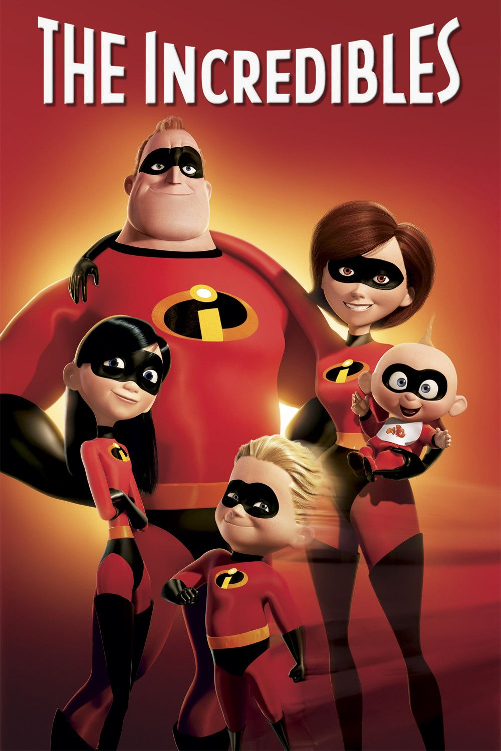 The Incredibles; I ADORE this movie :D