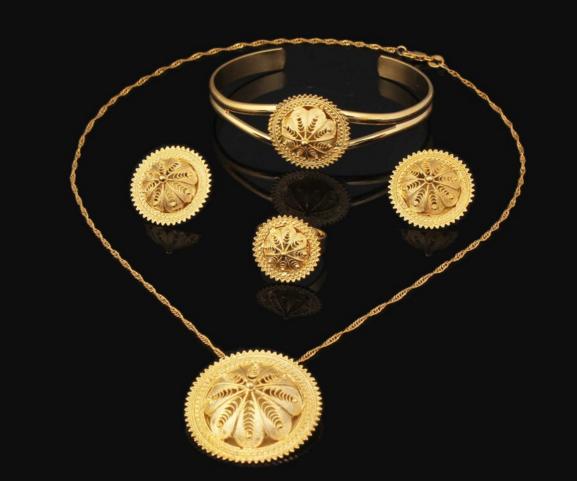 Habesha Wedding Bridal Jewelry Sets