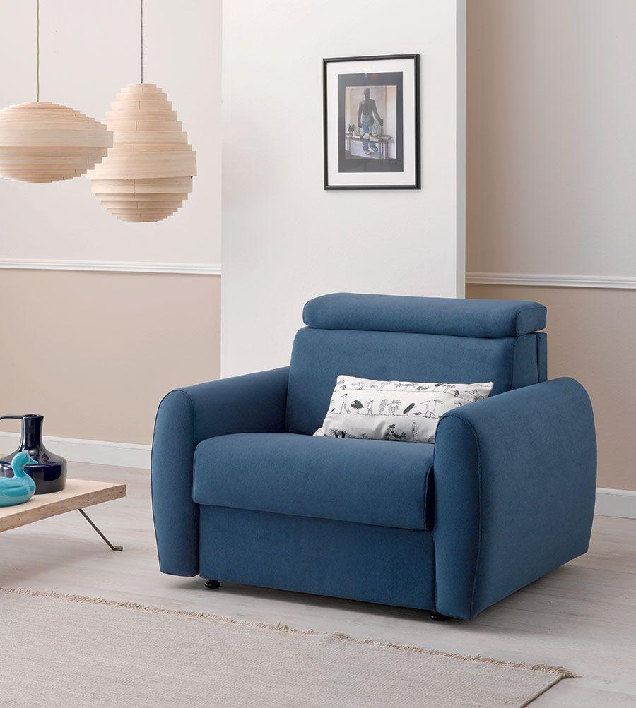 Moore di Doimo Salotti, un\'elegante poltrona letto design ...