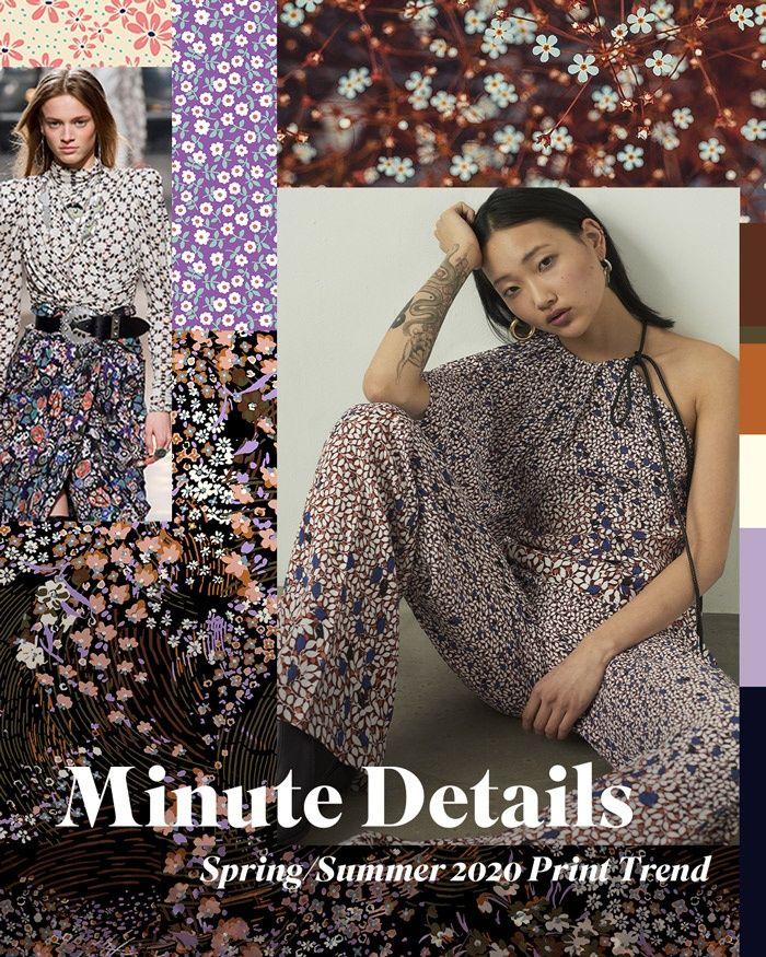Spring/Summer 2020 Print & Pattern Trend – Minute Details (Patternbank)