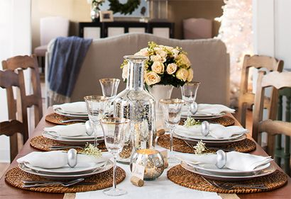 Party table setting//