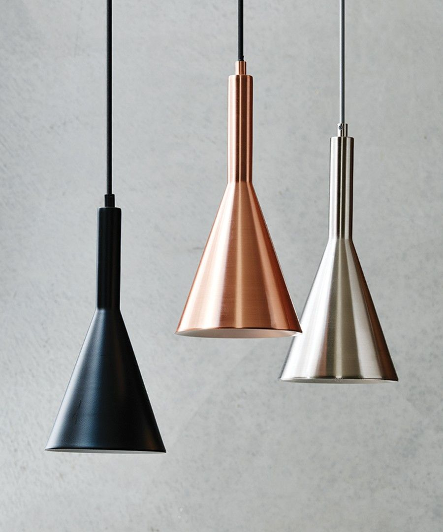 LEDlux Canteen Dimmable Pendant in Copper | Pendant lights | Pinterest