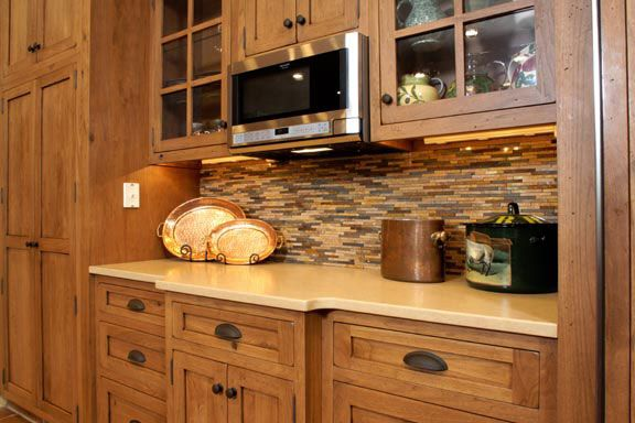 hickory shaker style kitchen cabinets hickory shaker style cabinets tedd wood custom 16284