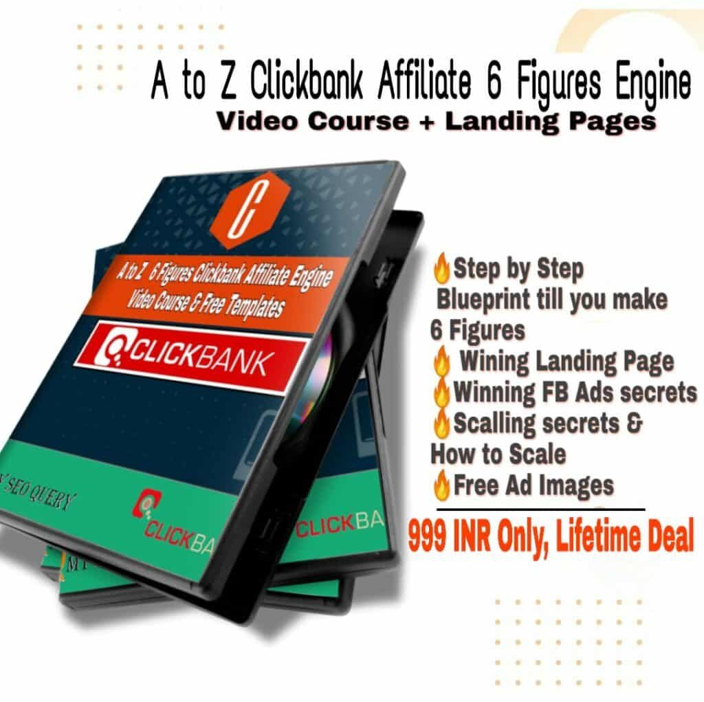 Best Clickbank Course Affiliate Marketing Video Course 40 Off In 2020 Affiliate Marketing Video Marketing Learn Affiliate Marketing