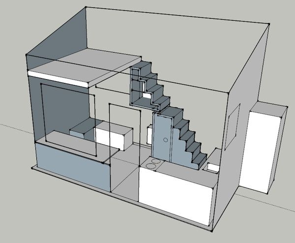 tiny house tiny house basic DIY plans for a tiny house on a