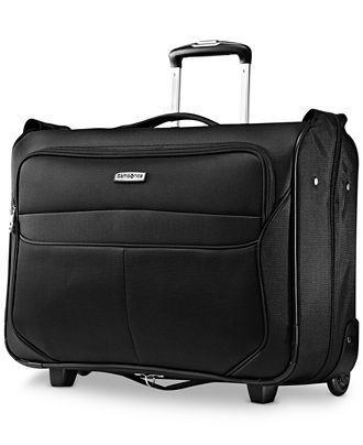 dbff6bce94a0 Samsonite LifTwo Carry On Rolling Garment Bag - Garment Bags - luggage -  Macy s