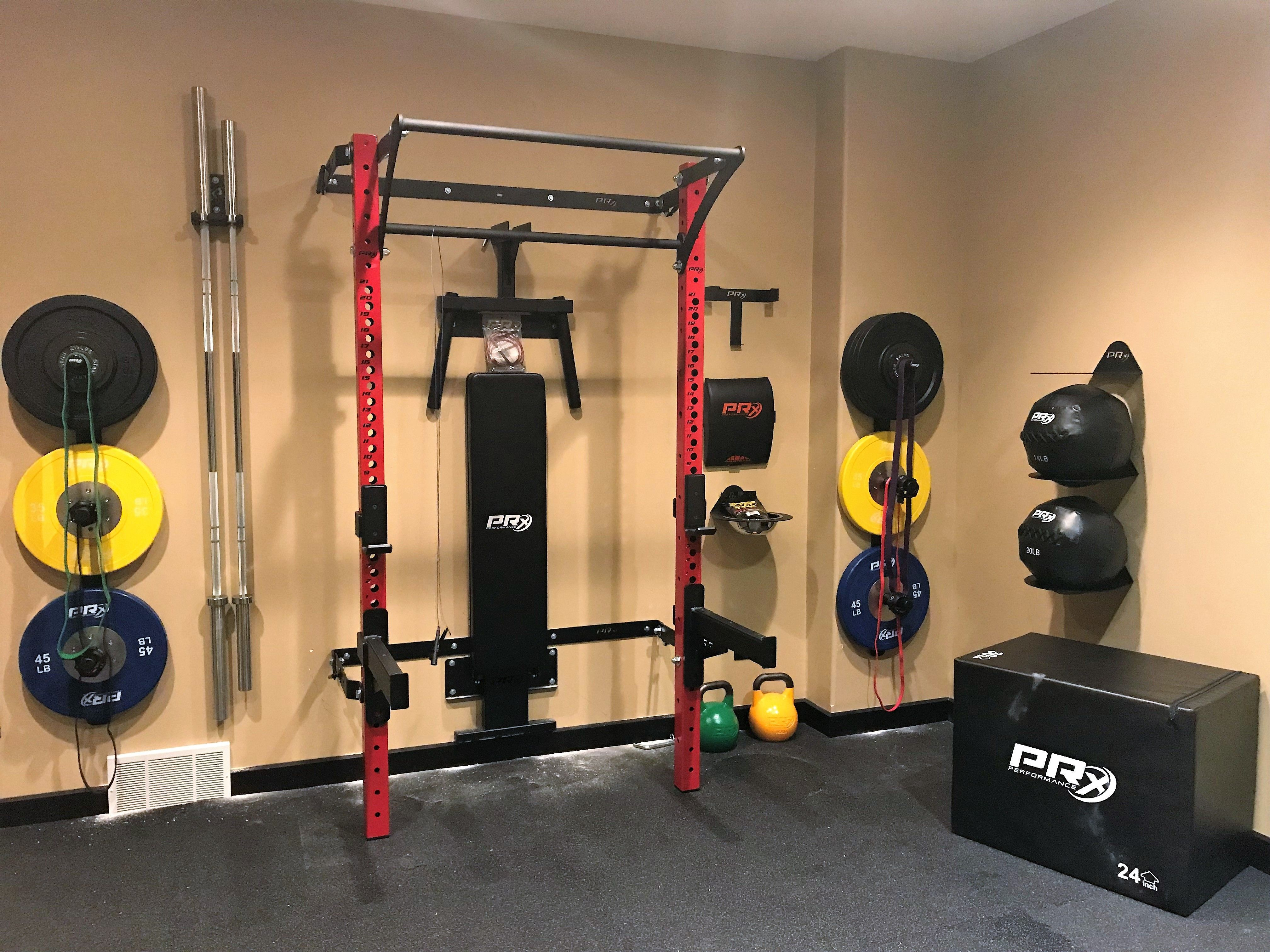 All The Colors To Brighten Up Any Workout Dream Home Gym Home Gym Garage Gym Interior