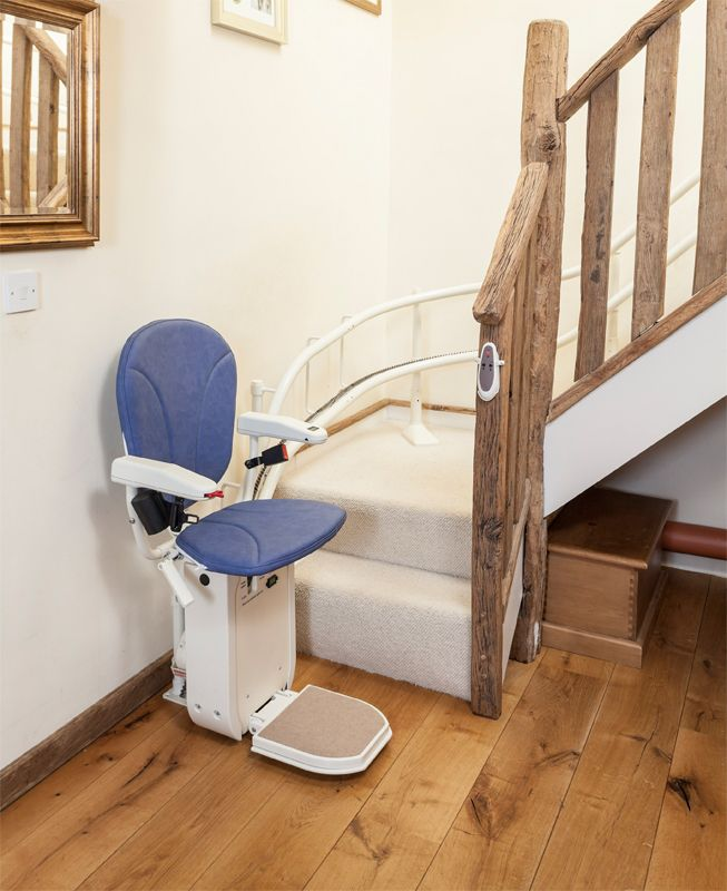 home chair lift. Modren Home AmeriGlide Platinum Curved Stair Lift And Home Chair