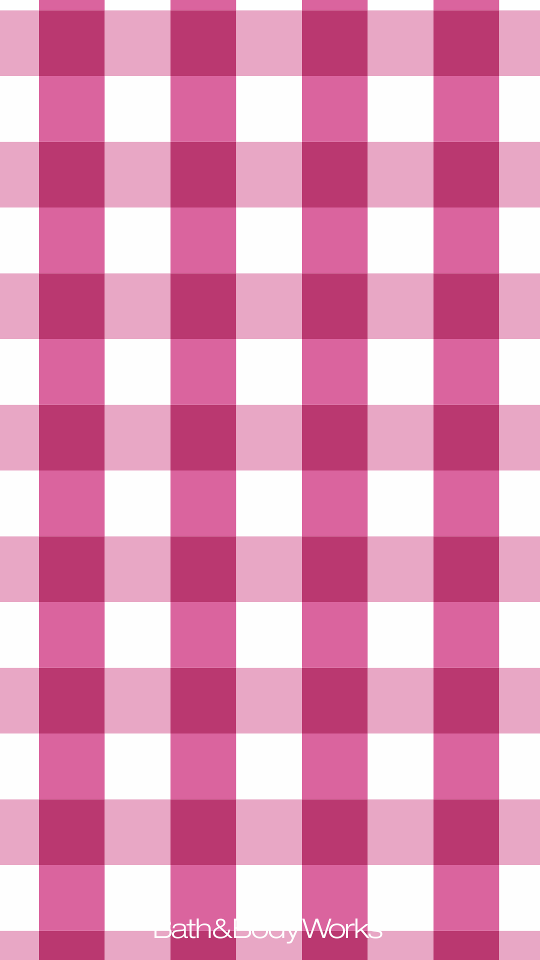 Pink Gingham iPhone Wallpaper Background Wallpaper