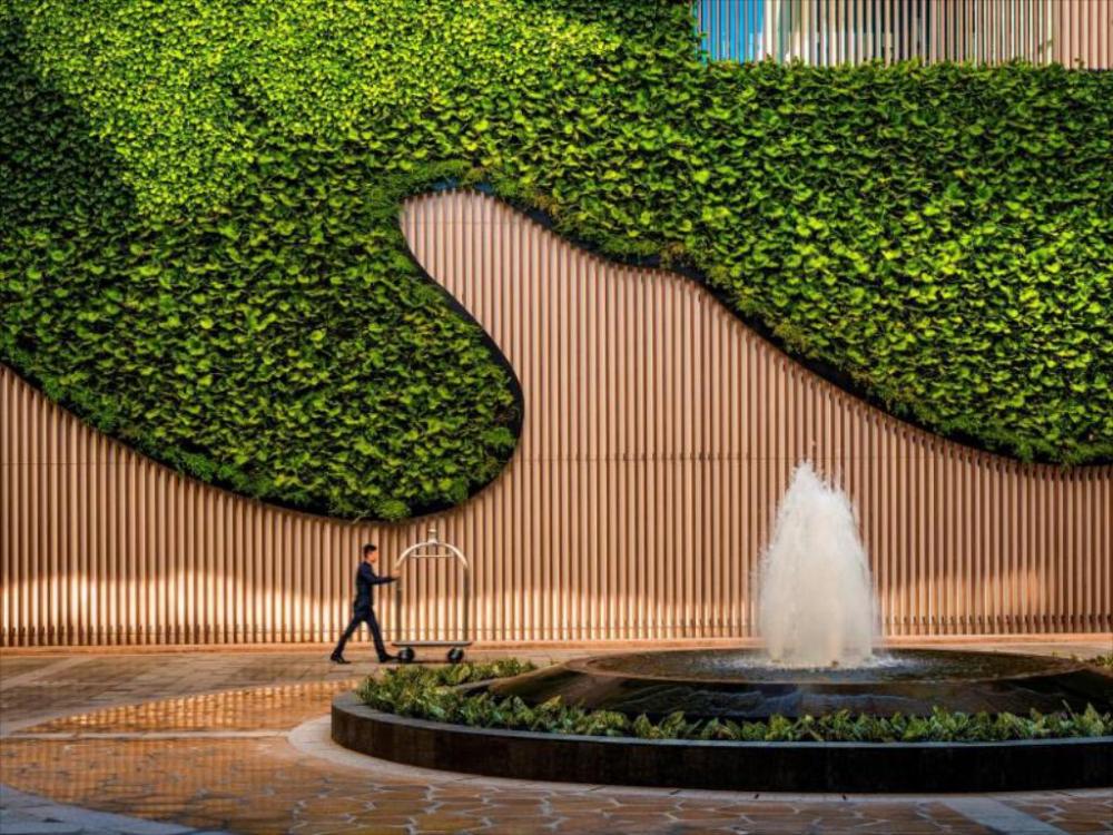 Intercontinental Nha Trang In Vietnam Room Deals Photos Reviews Green Architecture Green Wall Design Green Facade