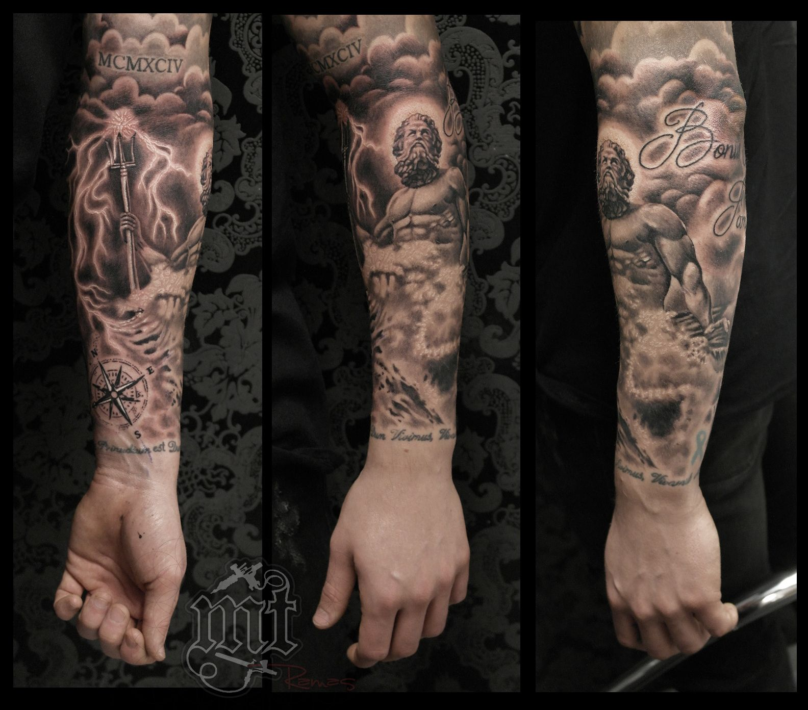 Poseidon Tatto Poseidon Tattoo Tattoos Et Sleeve Tattoos