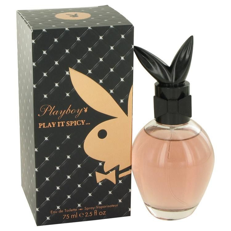 Playboy Play It Spicy by Coty Eau De Toilette Spray 2.5 oz. Unleashed in 2010, this is the third and final weapon of seduction in this set of three. This spellbinding fragrance includes bellini cocktail, pink berries and pomegranate for the top notes. The heart contains tiger lily, heliotrope and passion flower. The sensuous base is blended with amber, sandalwood and vanilla. Designed for the woman who has mastered the art of seduction, this intoxicating fragrance is bound to leave that…