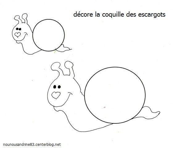 activite manuelle escargot