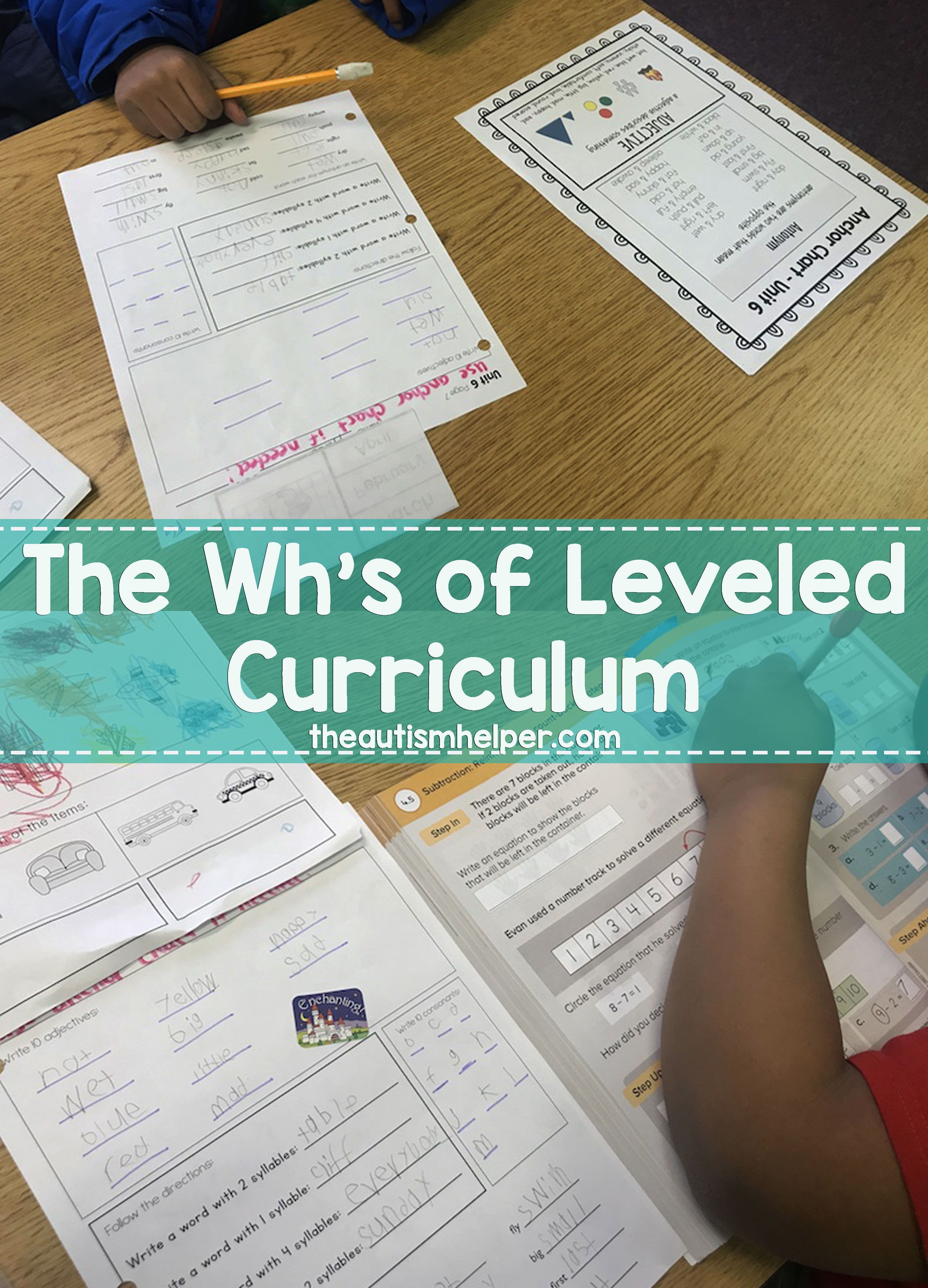 The Wh S Of Leveled Curriculums