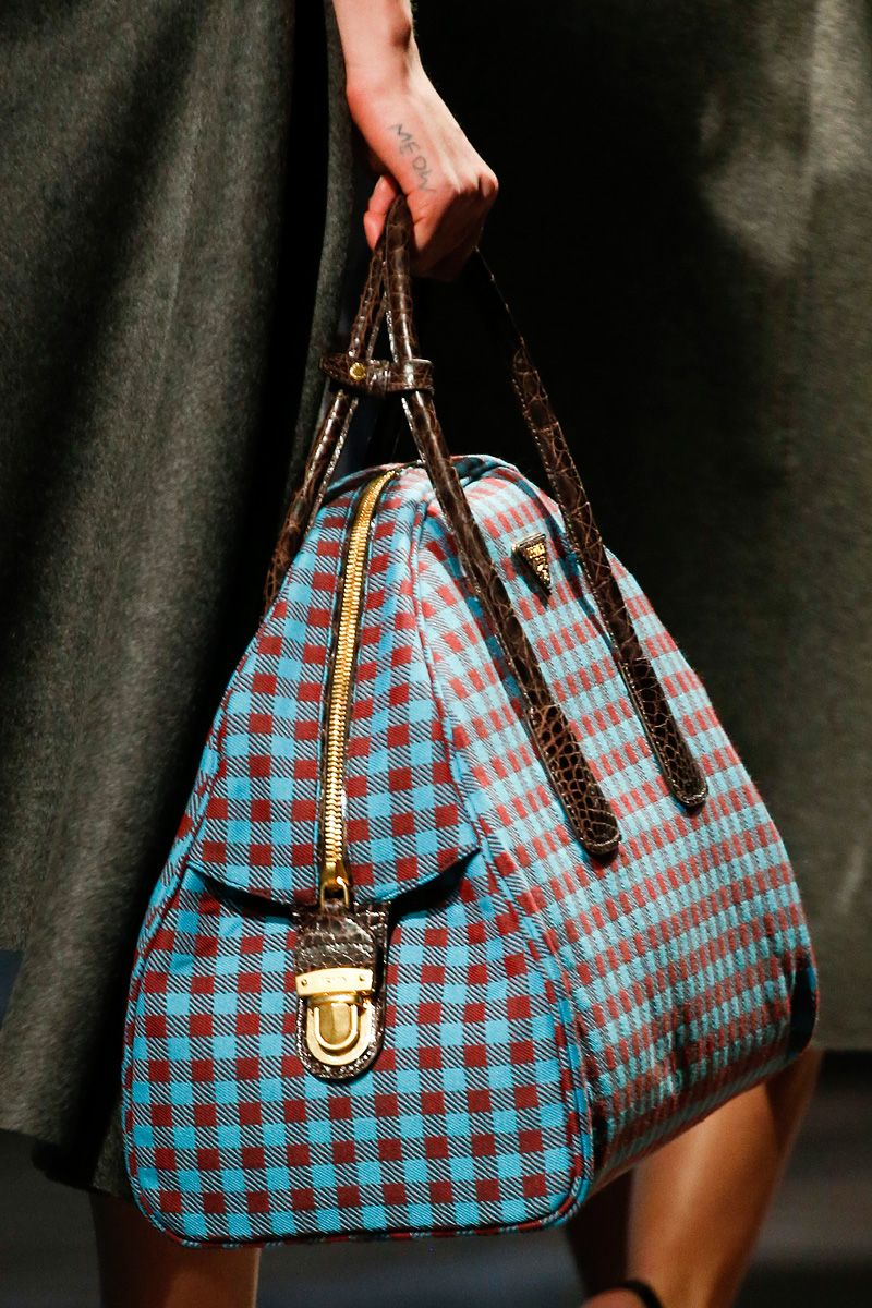 2953f7e433b7c2 Prada Fall 2013. I would never find anything in this bag. | Handsome ...