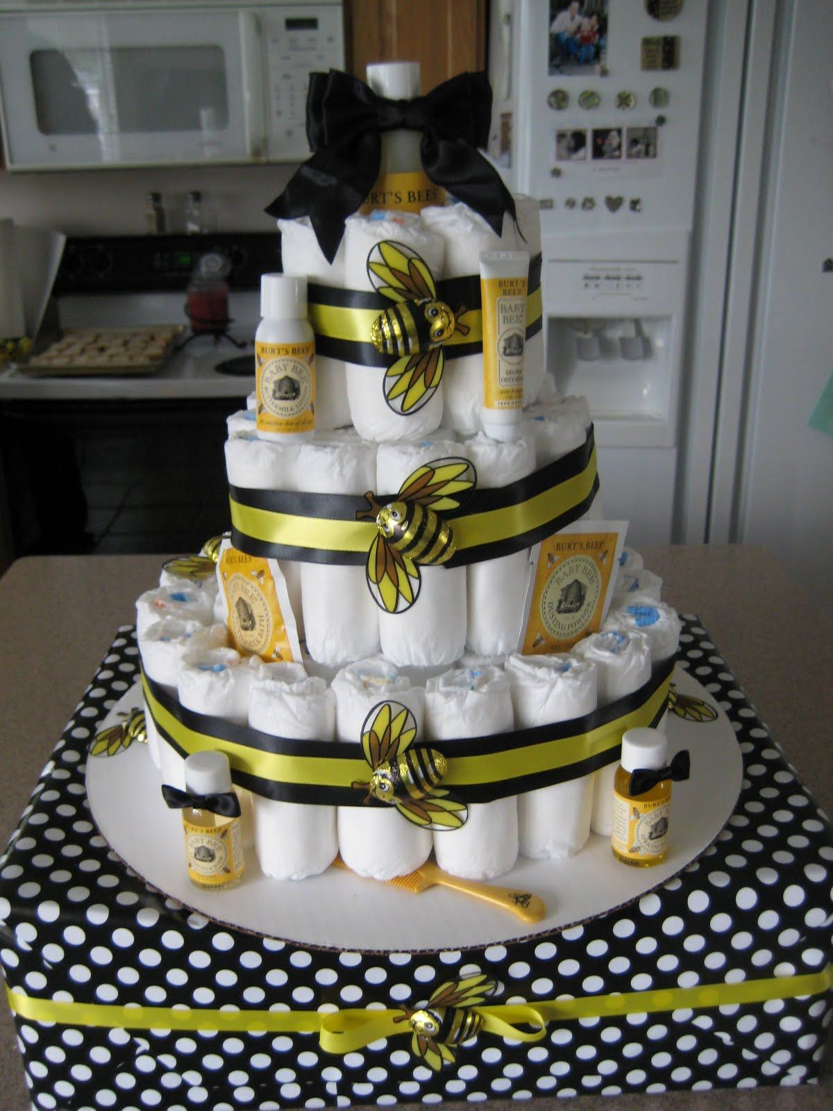 {Blissful} Bumble Bee Baby Shower