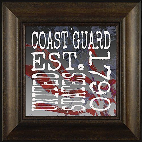 Established Coast Guard By Todd Thunstedt 20x20 Patriotic Soldier Military Constitution George Washington Lincoln Reagan Eagle West Point F22 Raptor Pilot Framed Art Print Wall Décor Picture ThunderMark Art and Graphics http://www.amazon.com/dp/B014E6TBAU/ref=cm_sw_r_pi_dp_hU54vb14RSQD3