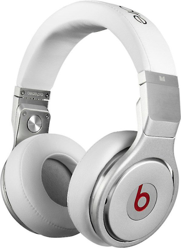Beats Pro White Over Ear Headphone At Crutchfield Beats Pro White Headphones Dre Headphones