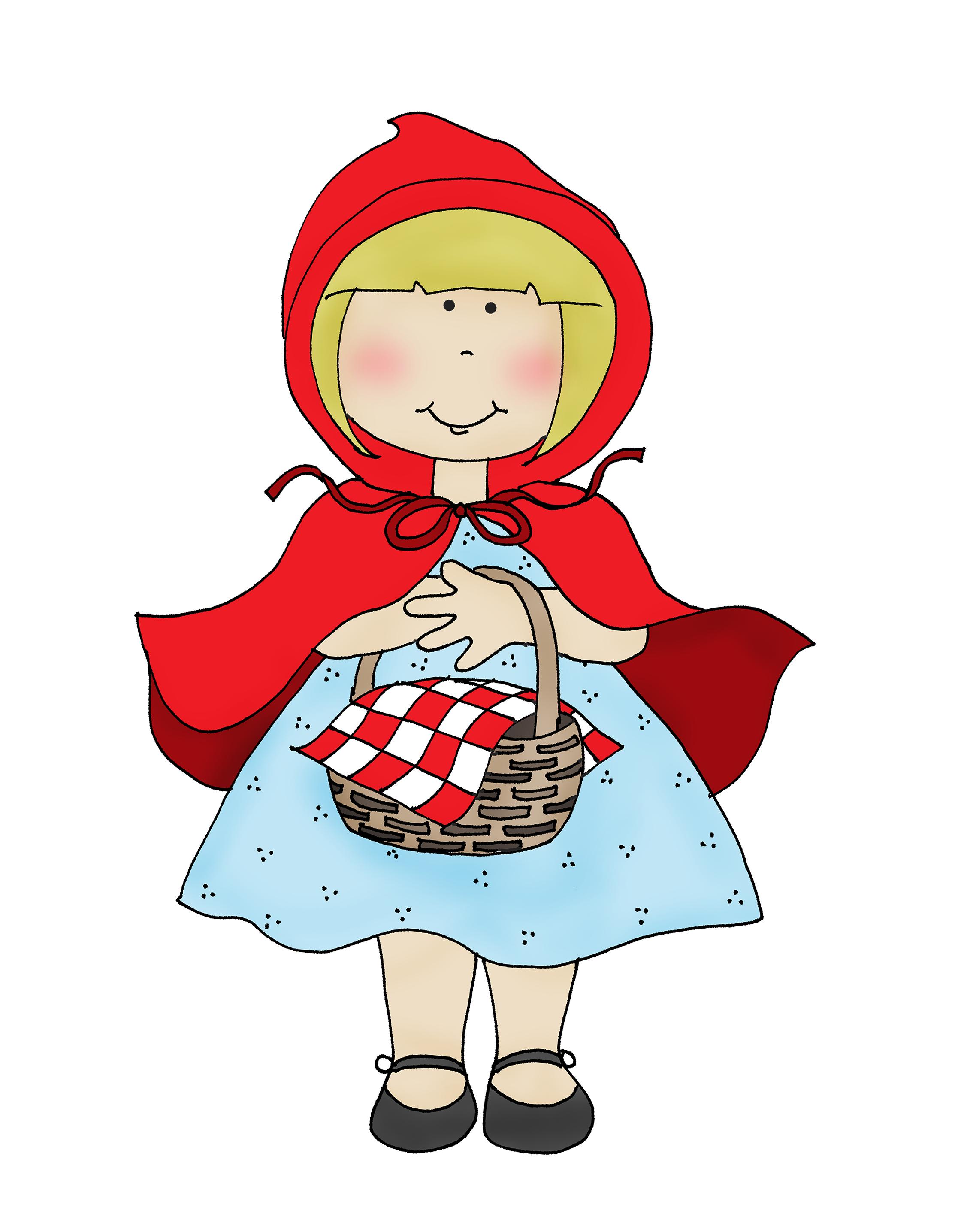 Little Red | Coloriage, Le petit chaperon rouge, Dessin