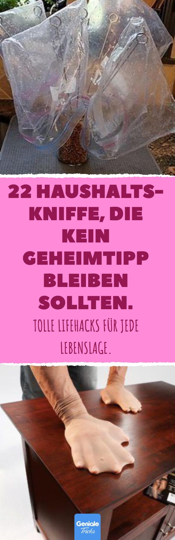 22 Haushalts-Kniffe, die kein Geheimtipp bleiben sollten #householdhacks