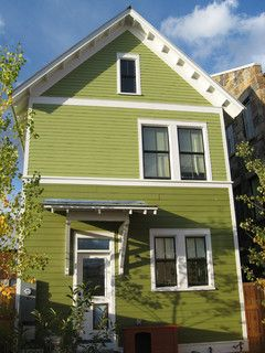Paint The Everyday Home Improvement Project Green Exterior