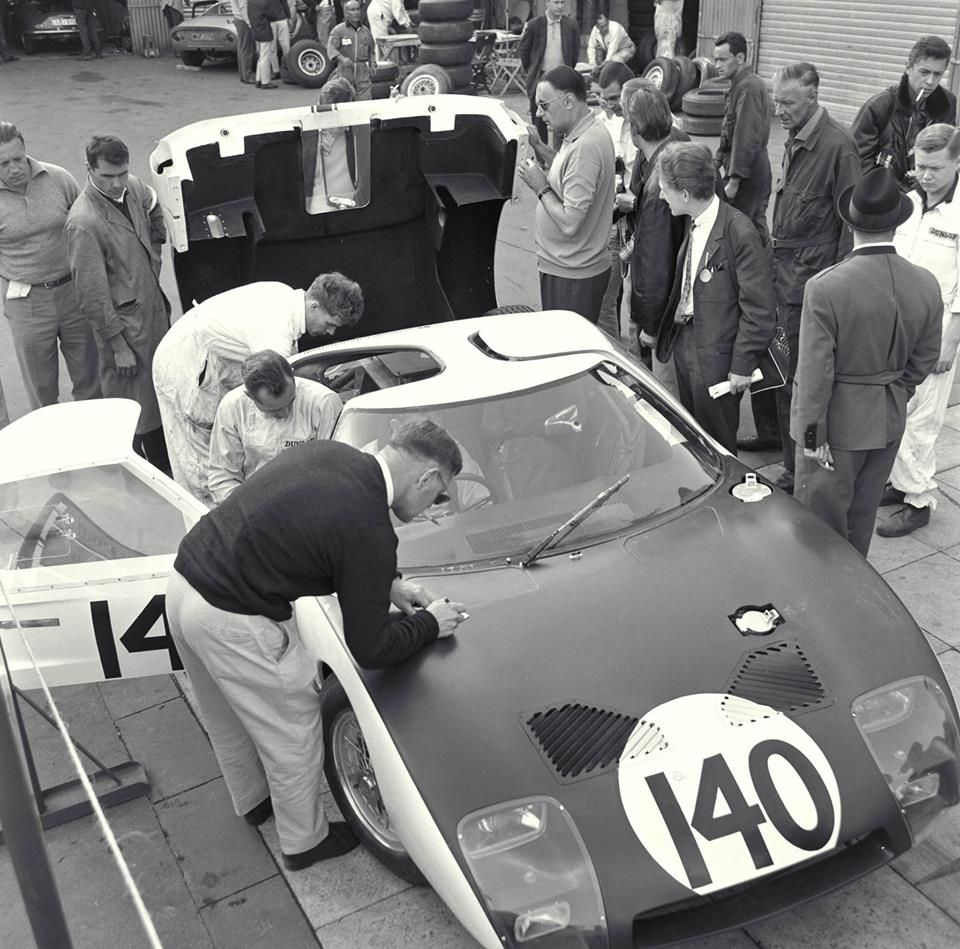 First Race For A Gt40 The Nurburgring 1964 Phil Hill Can Be Seen