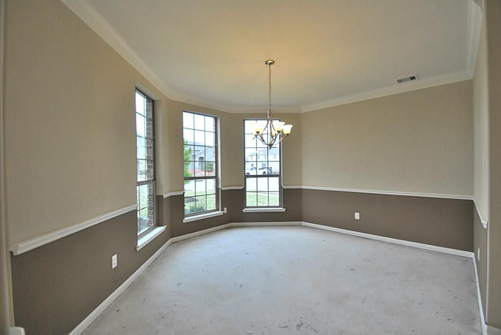 Dining Room Color Schemes Chair Rail 9507 emerald lakes drive,rosharon, 77583 - home value - har