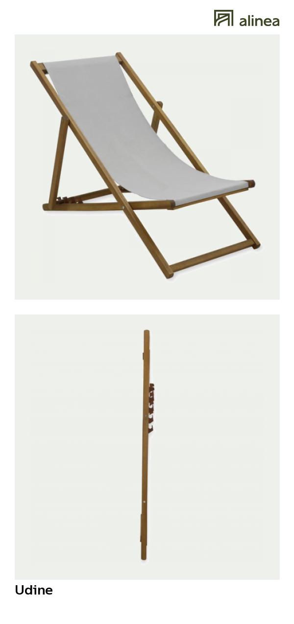 alinea udine chilienne chaise longue de jardin gris. Black Bedroom Furniture Sets. Home Design Ideas