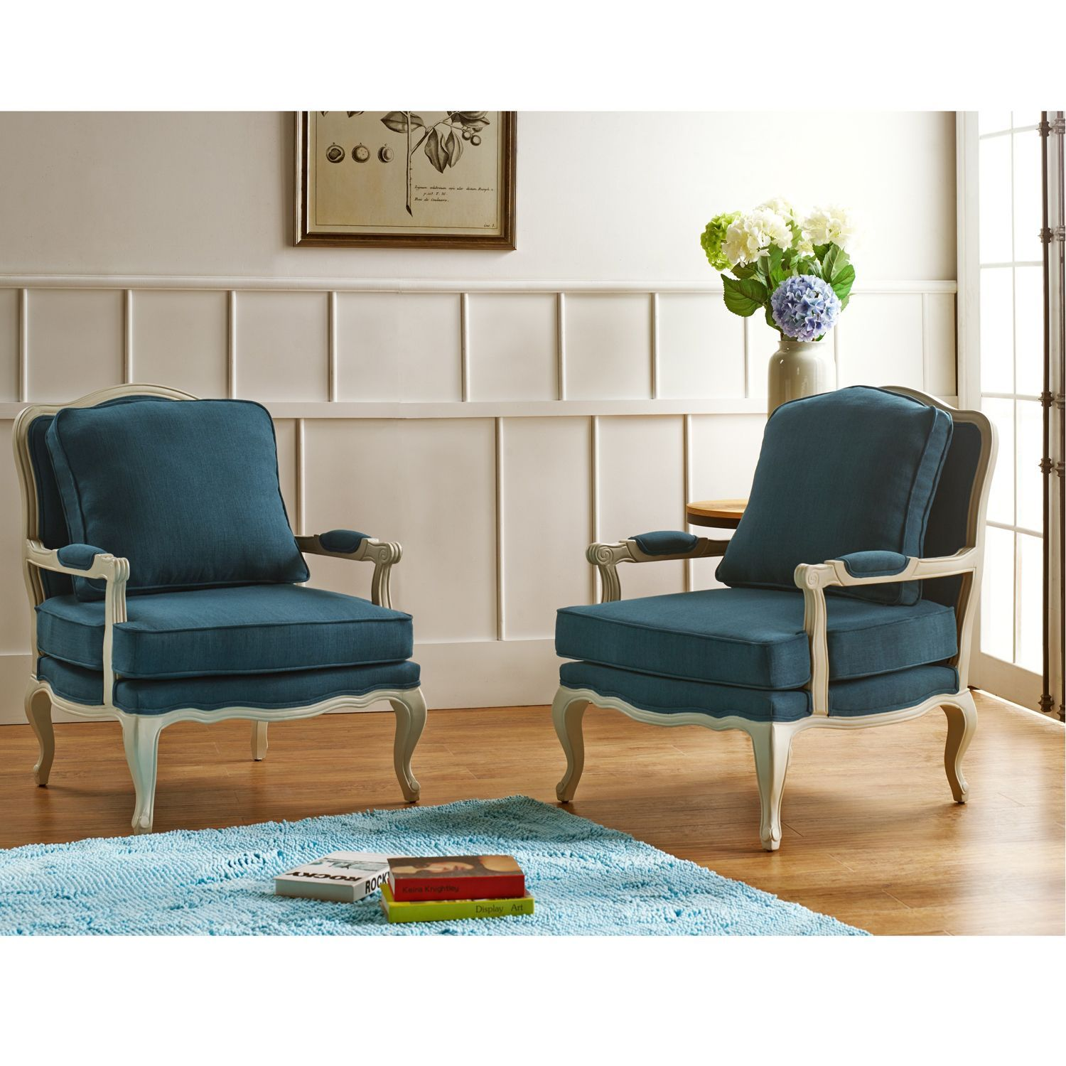 baxton studio antoinette traditional classic antiqued french blue