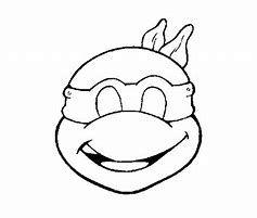 ninja turtle template printable  bing images in 2020  ninja turtle mask mask template