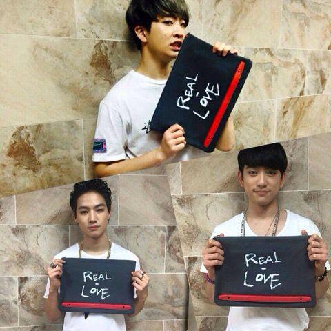 Youngjae, JB, and Jr.- Rosa K.'s Facebook