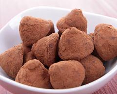 Truffes chocolat et châtaignes #truffesauchocolat