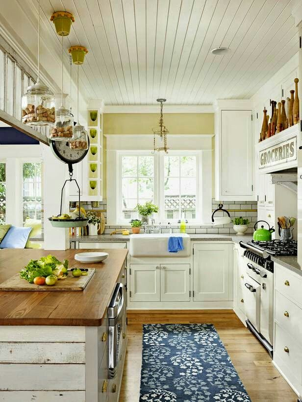 Best Cute Country Kitchen Cottage Kitchen Inspiration 400 x 300