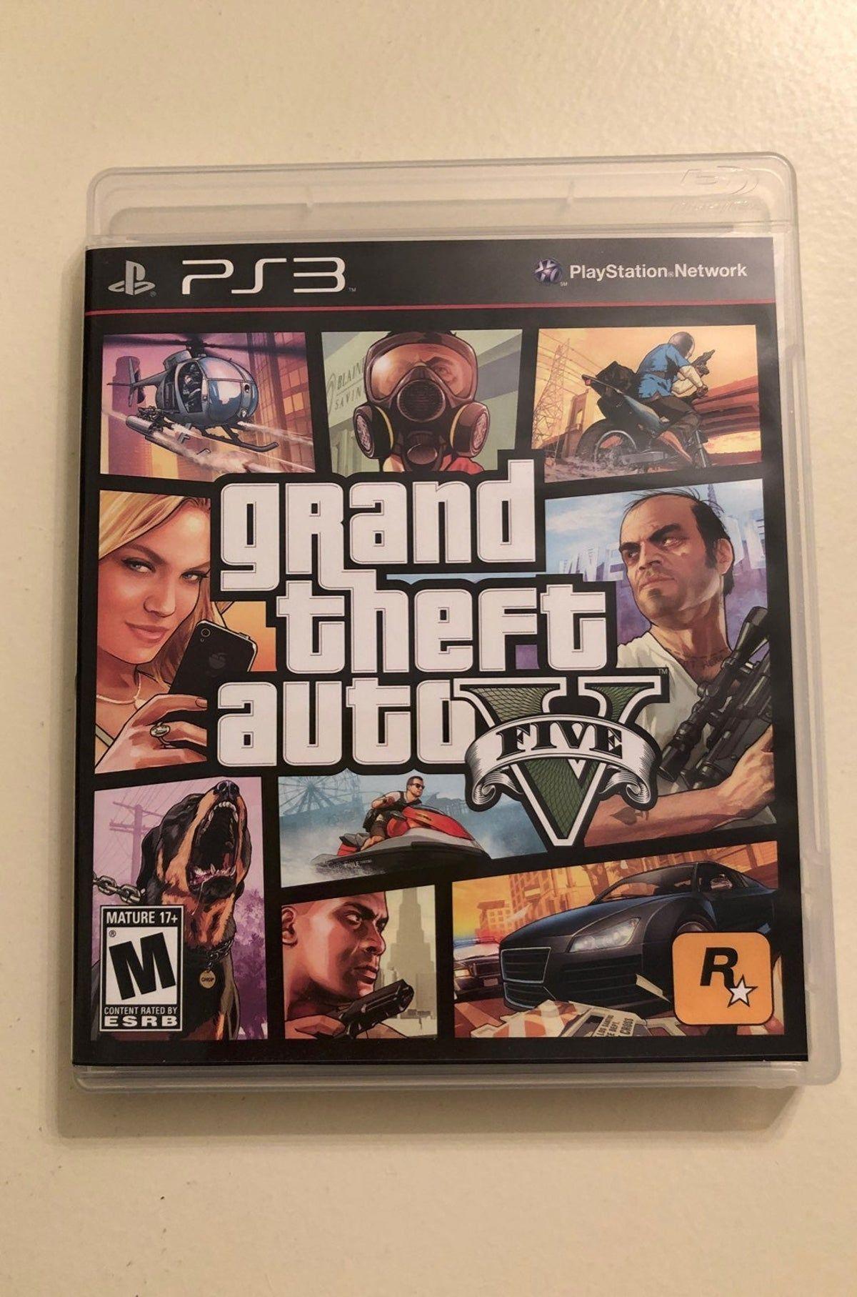 Ps 3 Grand Theft Auto Five Grand Theft Auto Gta 5 Xbox Really Fun Games