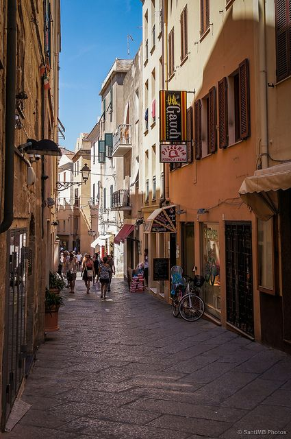 L'Alguer, Sardinia, Italy